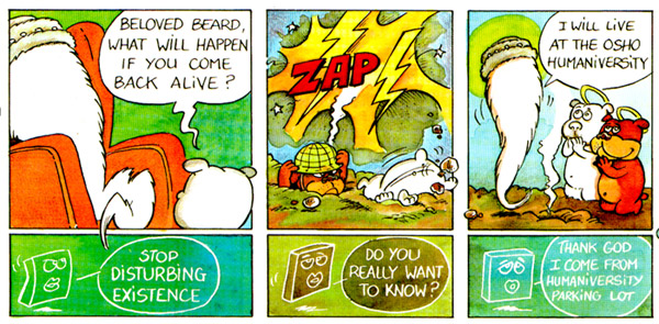 The Beard comic strip